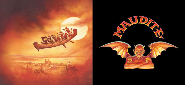 Artwork from Unibroue for Maudite