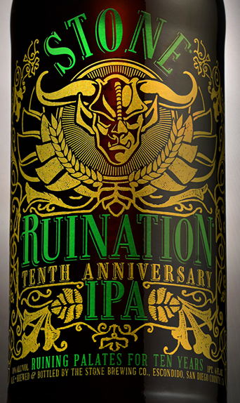 Stone Brewing Co. – Stone Ruination Tenth Anniversary IPA