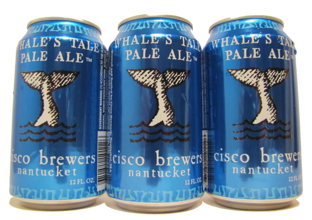 Cisco Brewers – Whale's Tale Pale Ale