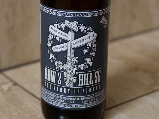Russian River – Row 2, Hill 56 – The Story of Simcoe