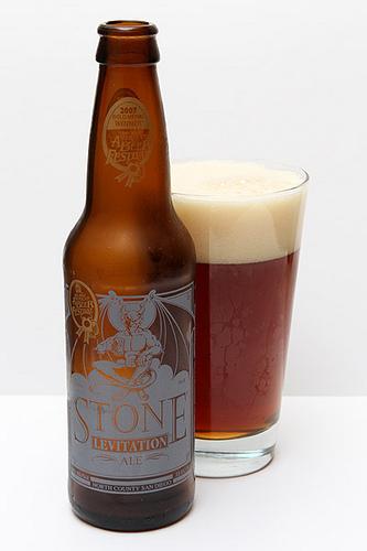 Stone Levitation Ale : Stone brewery co levitation ale