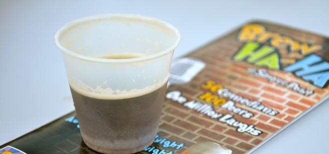 Beer Sample Cincinnati Brew Ha-Ha