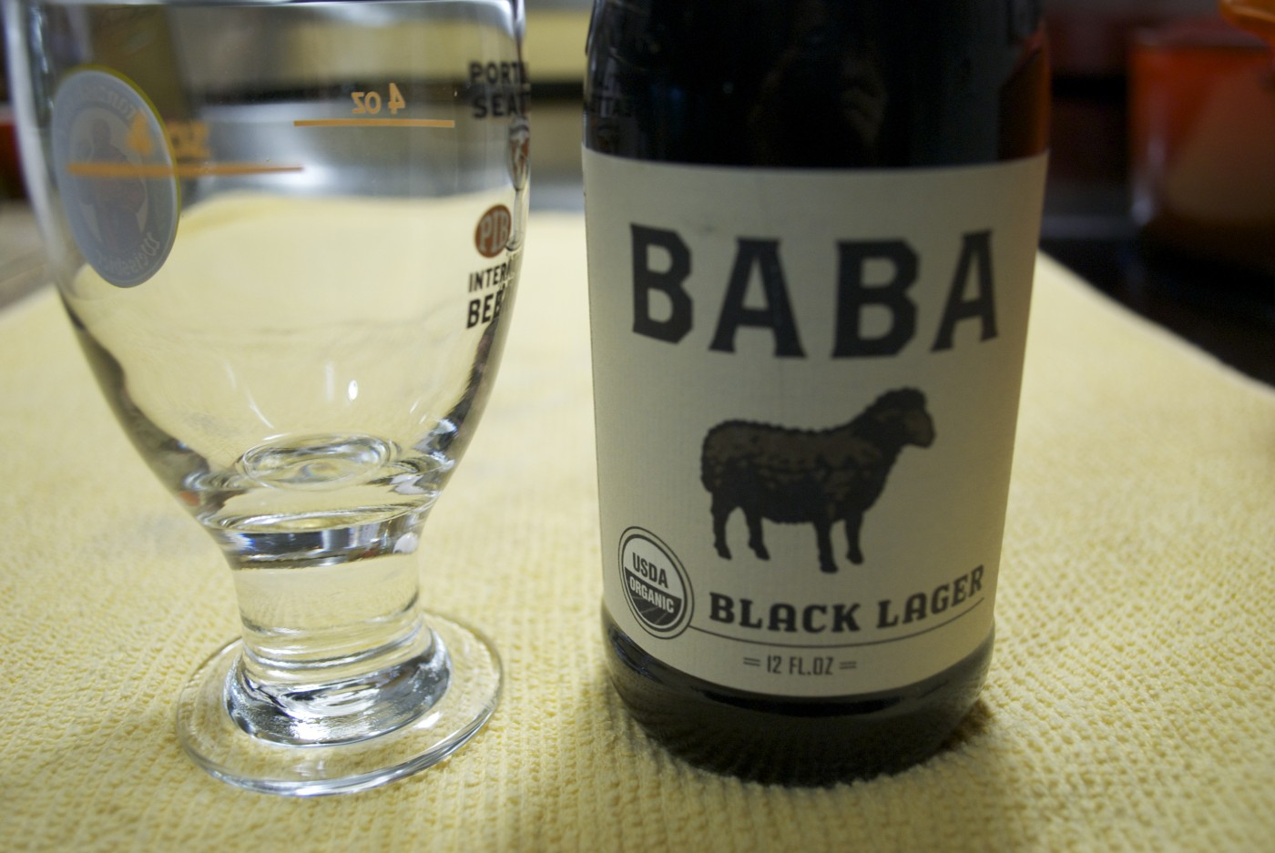 Uinta Brewing – BABA Black Lager