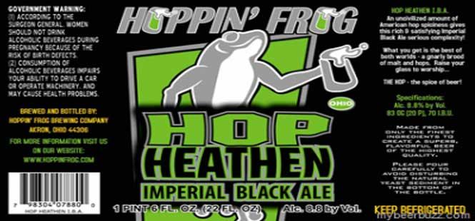 Hoppin Frog Brewery – Hop Heathen Black
