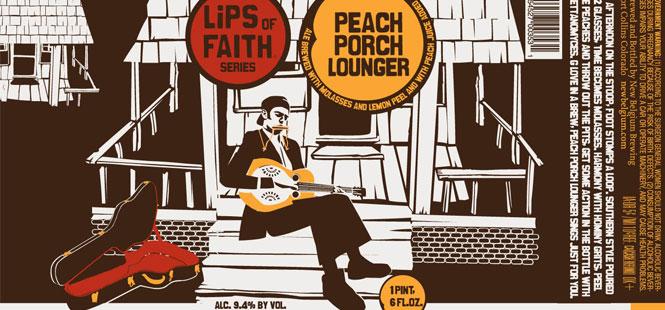 Peach Porch Lounger – New Belgium Brewery