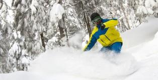 snowboard powder