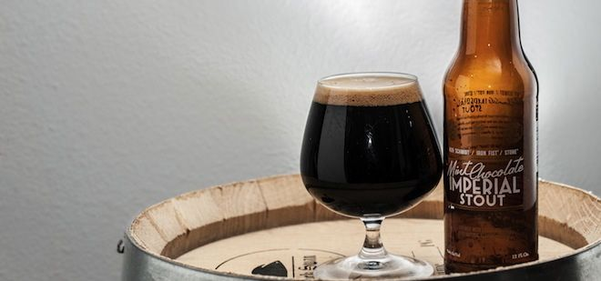 Stone Mint Chocolate Imperial Stout