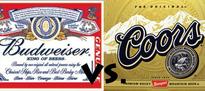 Presidential Election: Budweiser vs. Coors