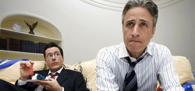 Mock Election Face-Off: Jon Stewart vs. Stephen Colbert