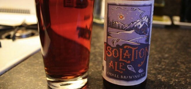 Odell Brewing Company- Isolation Ale