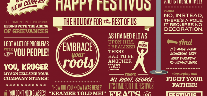 Happy festivus for the rest of us celebration holiday