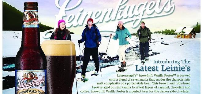 Leinenkugel's Snowdrift Vanilla Porter