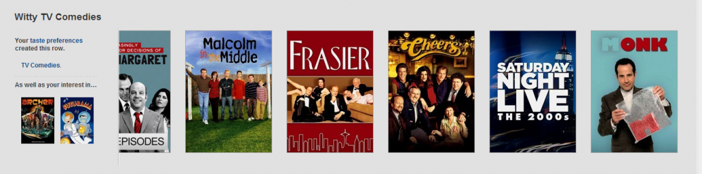 Nobody gets me like you do, Netflix