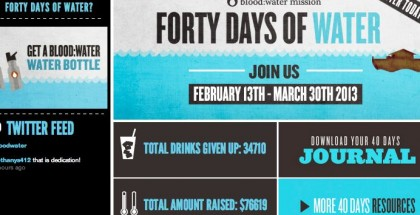 40 Days of Water