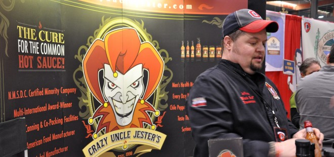 Cincy Winter Beer Fest Crazy Uncle Jester's Hot Sauce