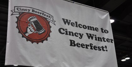 Cincy Winter Beer Fest Welcome