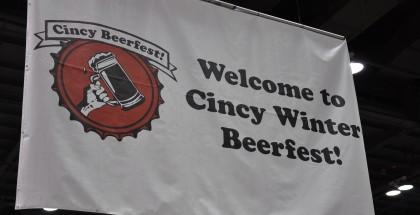 Cincy Winter Beer Fest Welcome