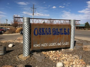Oskar Blues Brewery Sign