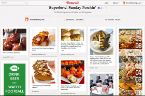 super bowl pinterest board