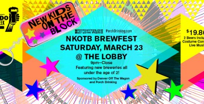 New Kids on the Block 80s Party
