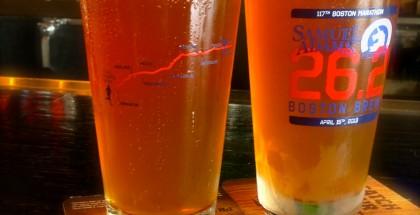 26.2 Boston Brew on draft