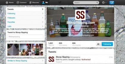 PorchDrinking Got Twitter Hacked