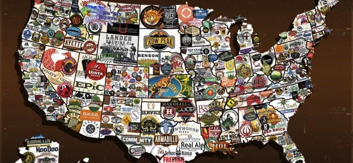 American Craft Beer Week Map