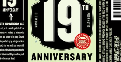 Great Divide 19th Anniversary Ale