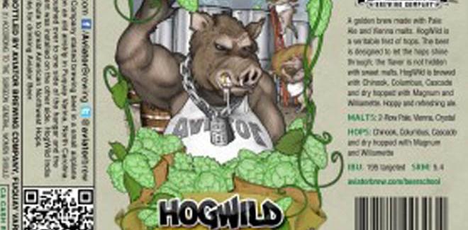 Aviator Brewing Company – Hogwild India Pale Ale