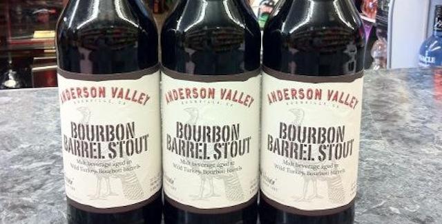 Anderson Valley Brewing Wild Turkey Bourbon Barrel Stout