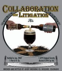 Collaboration Not Litigation