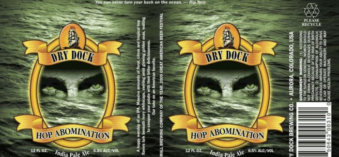 Dry Dock Brewery Hop Abomination