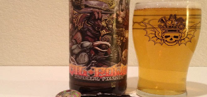 Three Floyds Evil Power Imperial Pilsner