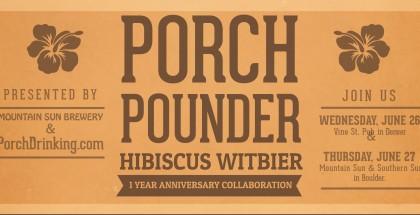 Mountain Sun Porch Pounder