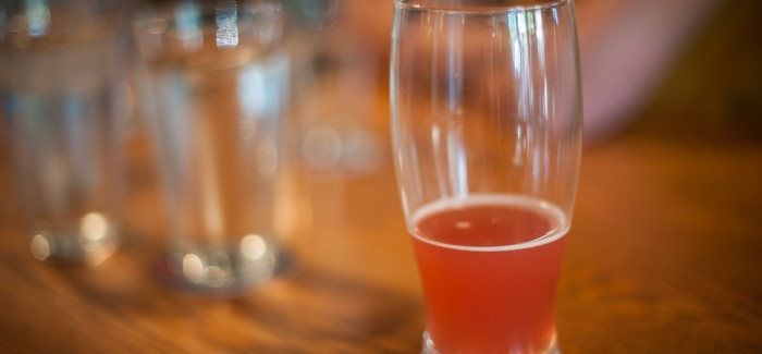 Brewing and Tasting the Porch Pounder Hibiscus Wit