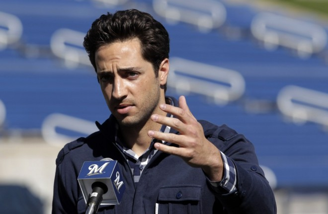 Despite adamantly denying using PEDs Brewers outfielder Ryan Braun admitted to using illegal drugs. He is suspended for the rest of 2013.