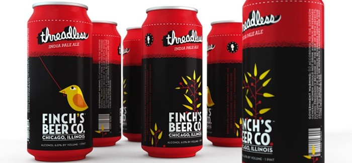 Finch's Beer Co.: threadless India Pale Ale