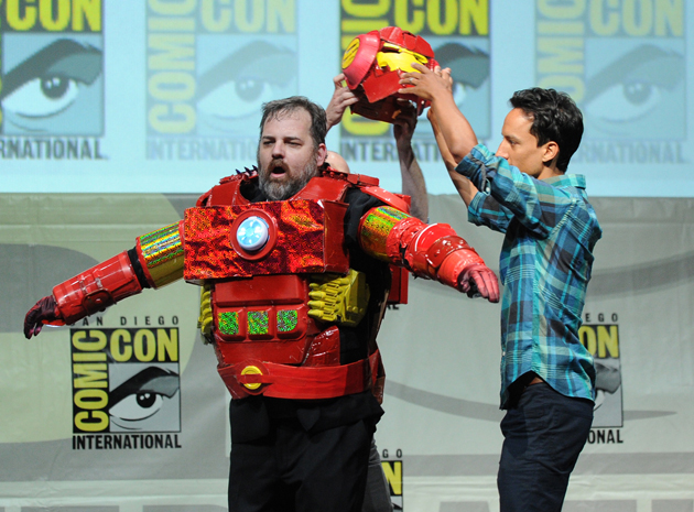 Only at Comic-Con can you do this in front of thousands of people.