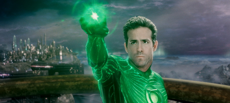 Apparently apathy is the source of a Green Lantern's power. Or, whatever.