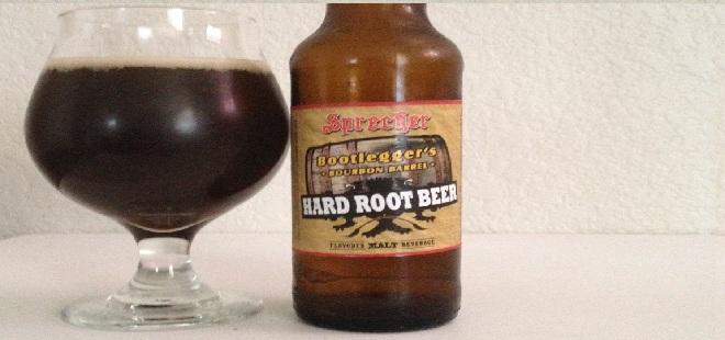 bourbon barrel hard root beer
