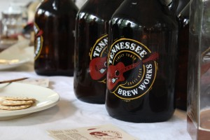 Tennessee Brew Works Growlers, Courtesy of Claire Gibson