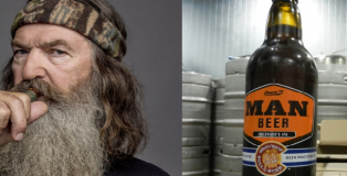 man beer - duck dynasty