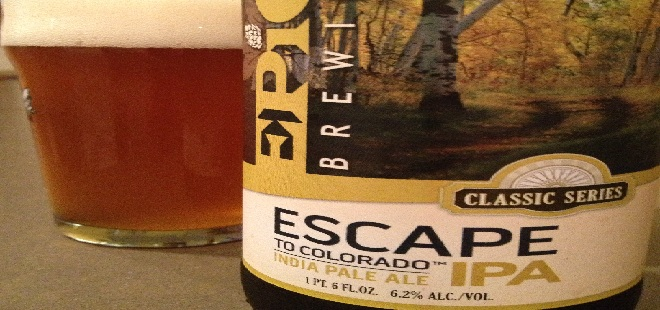 extreme close up of an escape to colorado