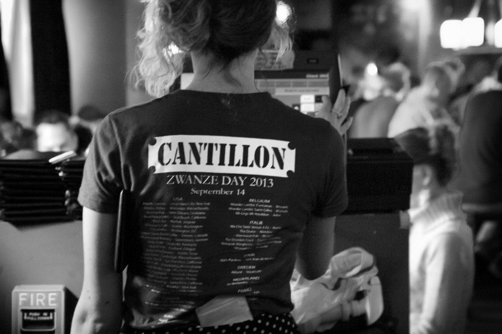 Cantillon Zwanze Day 2013 at Lord Hobo in Cambridge