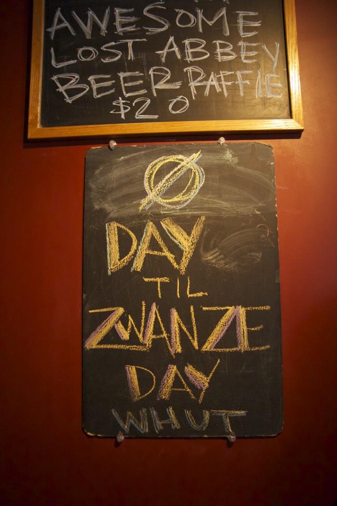 Cantillon Zwanze Day 2013