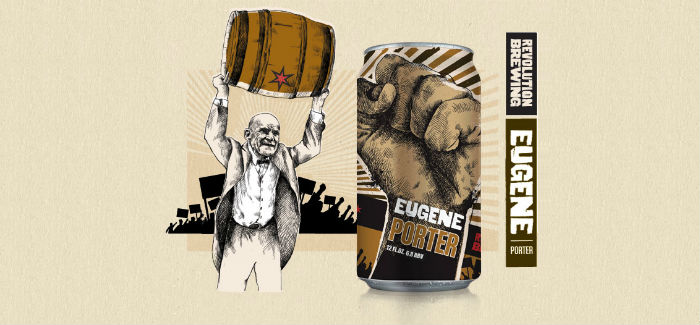 Meet Eugene – Revolution Brewing Eugene Porter