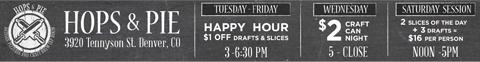 hops and pie denver happy hour