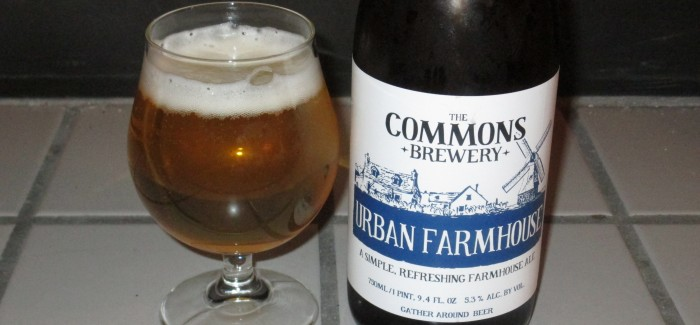 The Commons Brewery | Urban Farmhouse Ale