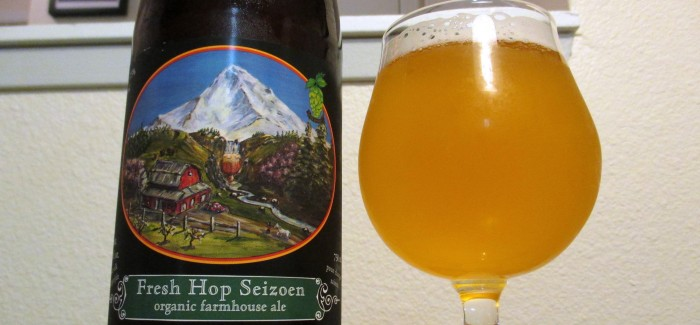 Logsdon Farmhouse Ales- Fresh Hop Seizoen