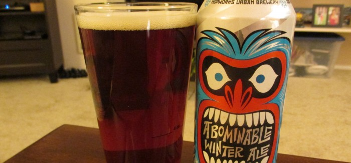 Hopworks Urban Brewery – Abominable Winter Ale